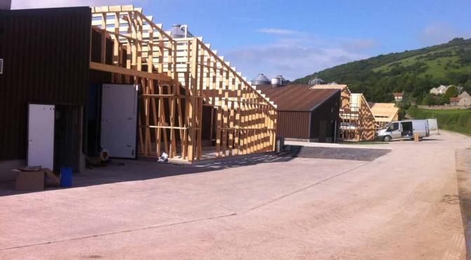 Axbridge poultry farm biomass boiler