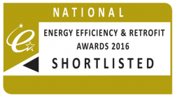 shortlisted for the National Energy Efficiency Awards