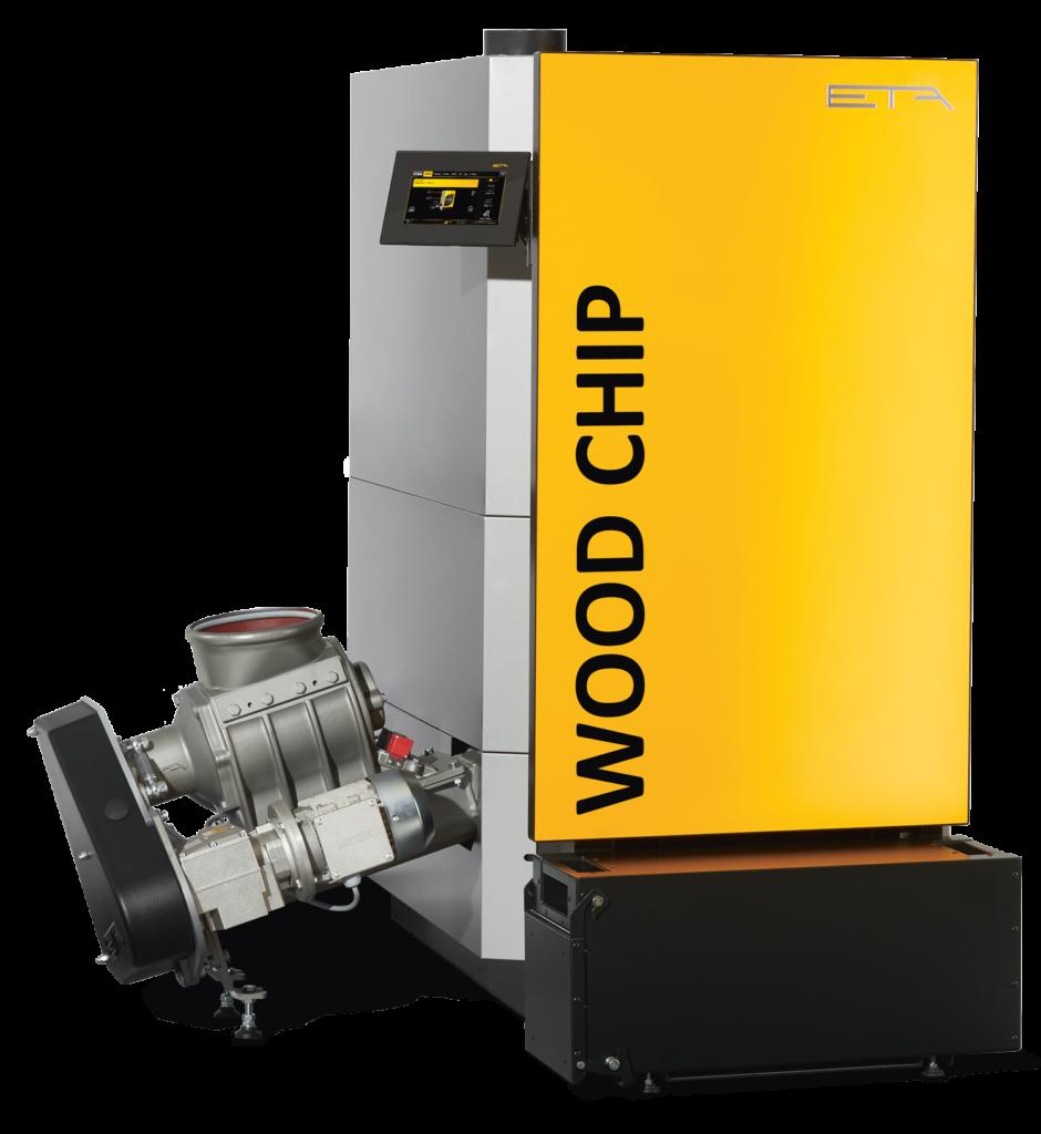 ETA eHack biomass boiler